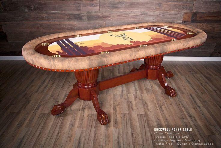 Custom Tables Poker Table Men Cave Gentleman Man Caves Poker Table Top & 19 best Custom Tables! images on Pinterest | Custom tables Poker ...