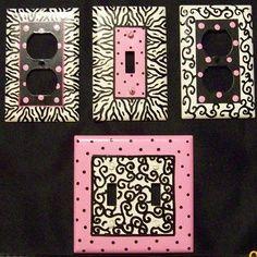 Teenage Girls Paris Bedroom Ideas | Pre teen and Tween zebra room decor ZEBRA HOT PINK DECOR