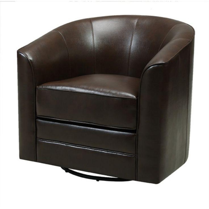 Emerald Home Milo Swivel Barrel Chair - U5029C-04-55