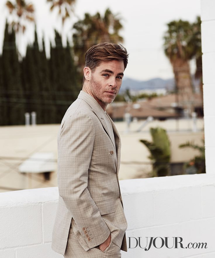 """The Finest Hours,"" ""Star Trek,"" and ""Wonder Woman"" star Chris Pine."