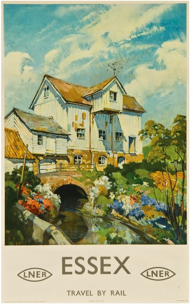 Essex, LNR by Terence Cuneo, 1955. Submitted by Barclay Samson Ltd.