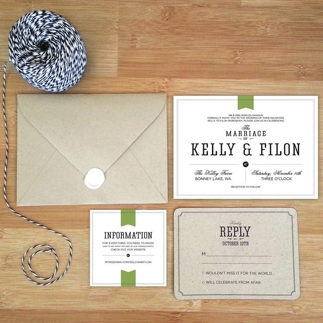 the knot your personal wedding planner invitations