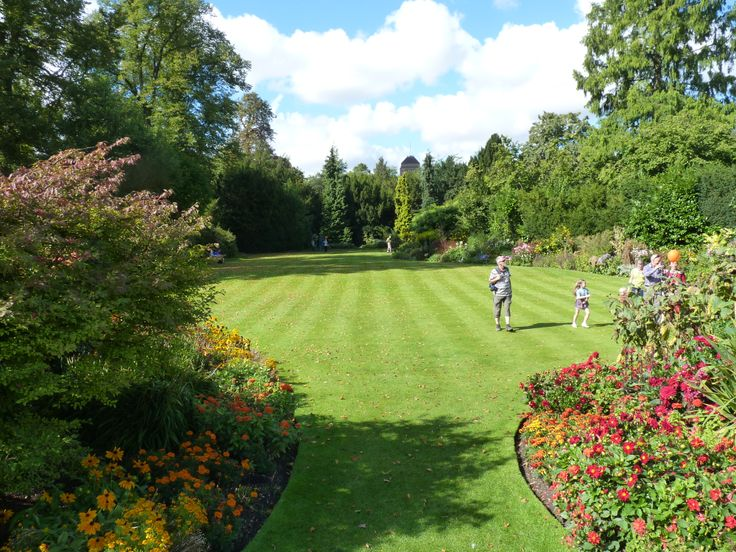 Visit Claire College gardens. These beautiful gardens are located between the river and the backs of the colleges.