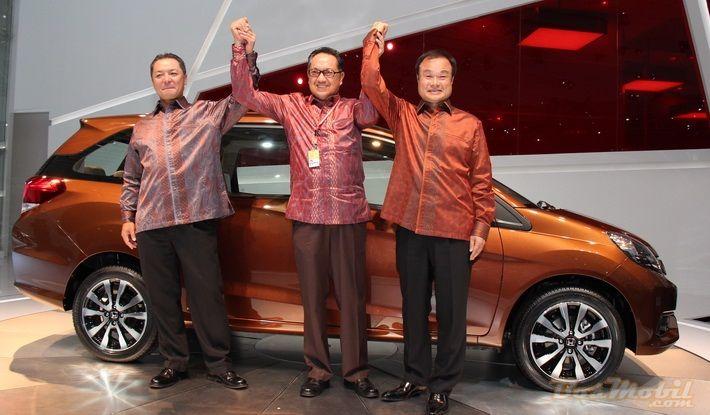 Low MPV Honda, Tampil Perdana di #IIMS2013