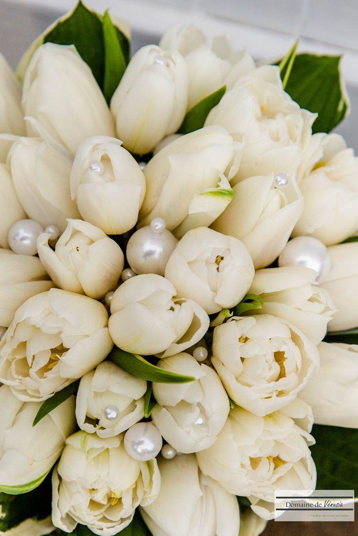 Les 25 meilleures id es de la cat gorie tulipes blanches for Bouquet fleurs blanches