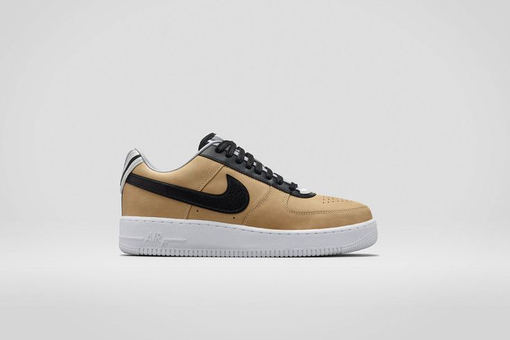 The Third and Final Nike + R.T. Air Force 1 Beige Collection
