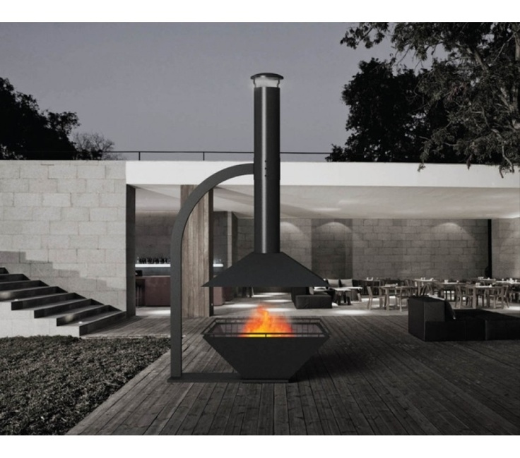 Caminus Outdoor Heater  The Estia Design outdoor heater is not only beautiful but functional, creating an inviting source of heat on cool evenings. A truly unique piece made out of quality materials to offer a flawless finish.    Sit back and relax while enjoying the tranquility of blazing flames, this great fireplace is a great addition to any sophisticated outdoor living area or entertainment space.    Price includes free delivery and installation in Melbourne CBD and Metropolitan regions.