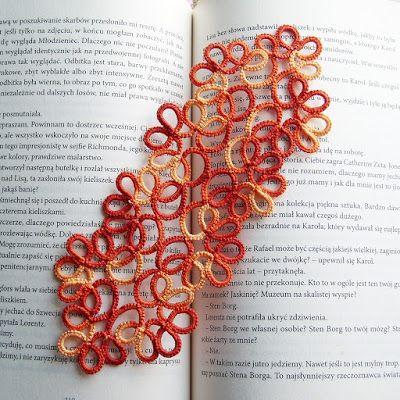 zakładka do książki hand made