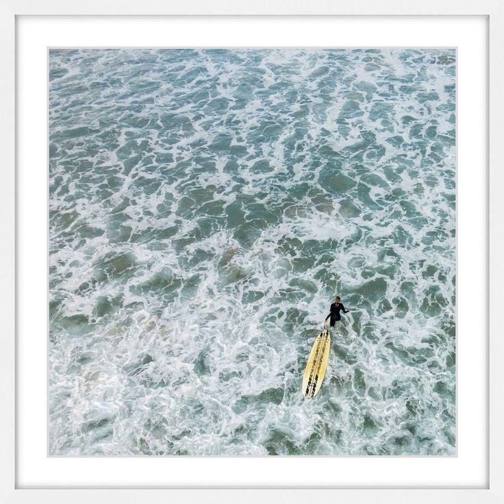 'Choppy Waters' by Karolis Janulis Framed Painting Print