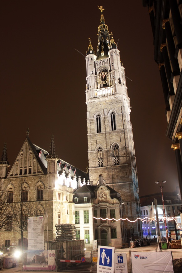 Belfry of Ghent, Belgium - amazing view from the top - you can see all the way to the coast.