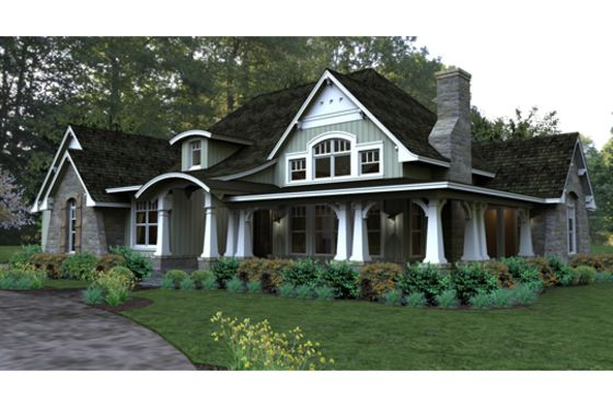 House plan 120 181 dream home pinterest house plans for Houseplans com craftsman