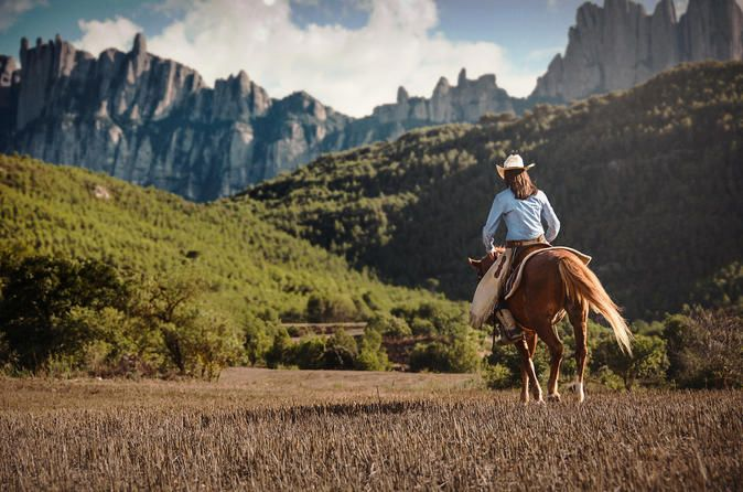 Montserrat Monastery and Horseback Riding Premium Small Group Tour from Barcelona 2018