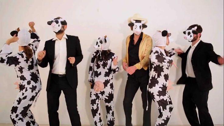 Parodie de Blurred Line : La vache en colère, contre la ferme des 1000 vaches. Excellent !