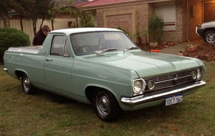 Had a hr holden ute but canary yellow had one for Holden motor cars australia