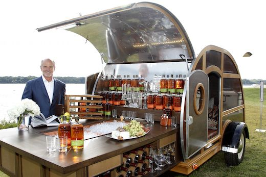 7 Mobile Bars Serving Wine, Beer and Booze | Bulleit Bourbon Trailer