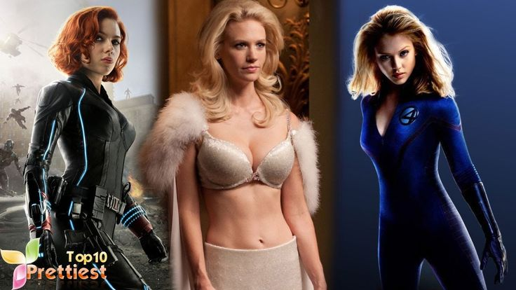 New Top 10 Prettiest Superhero Girls From Marvel Movies - Marvel - Top 1...