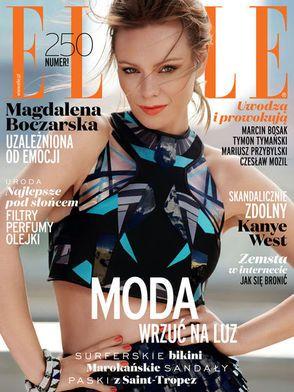 Redakcja Elle Polska poleca  w lipcowym numerze świeczki  zapachowe Blik, dostępne w naszym sklepie :)