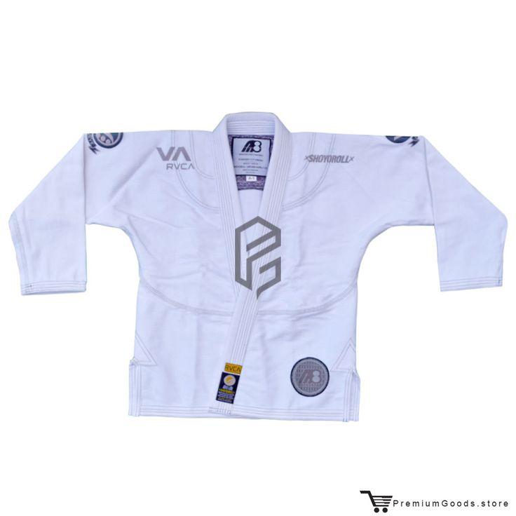 Shoyoroll x Mendes Bros RVCA Batch # 38 White Bjj Kimono Gi A3