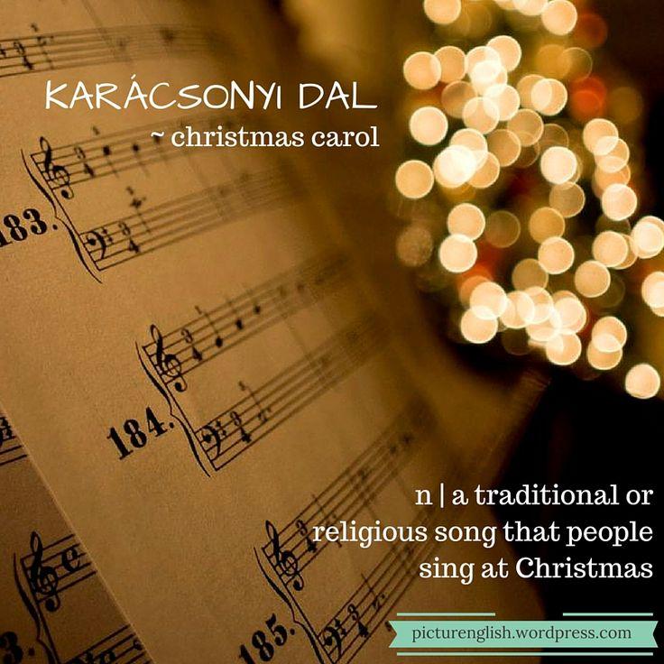 Christmas Carol / Karácsonyi dal