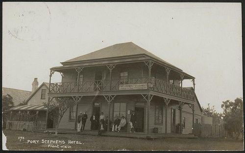 Port Stephens Hotel, 1908 | Flickr - Photo Sharing!