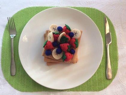 Waffles+-+Felt+Play+Food