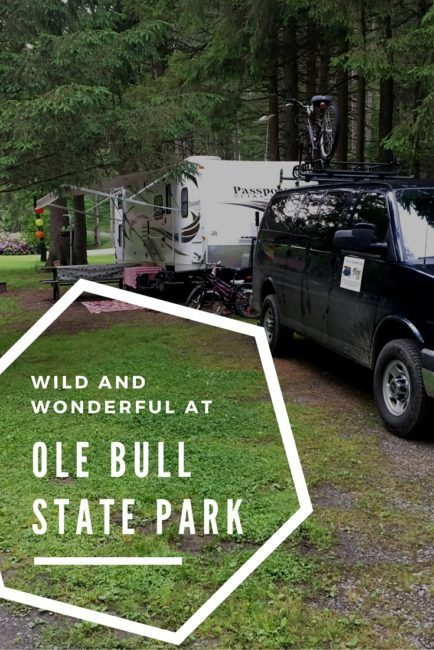 Our latest review about our stay at Ole Bull State Park Campground is up! Find out what awesome family event happens there every year--and why you might want to make it an annual tradition.