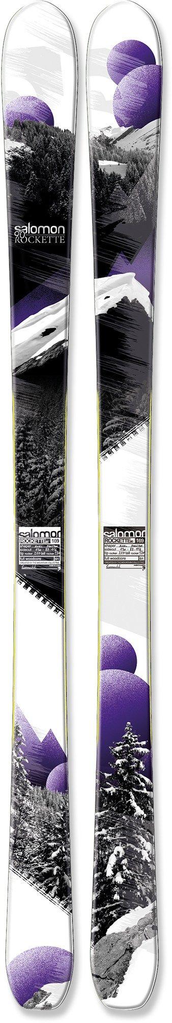 Salomon Rockette 90 Skis - Women's - 2012/2103 - Free Shipping at REI.com