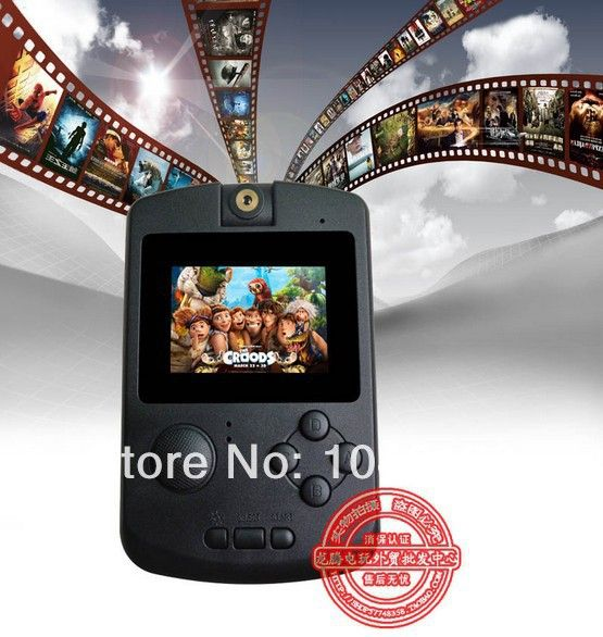 "Cheap game console ps3, Buy Quality consolation letter directly from China game console wireless Suppliers:  2.2"" 4:3 TFT screen PMP V Game Player with video,,mp3,mp4 built in 1GB+ 2000 games  1.2.2"" hig"