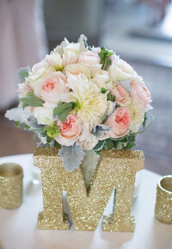 Best 25 Glitter wedding centerpieces ideas on Pinterest Wedding