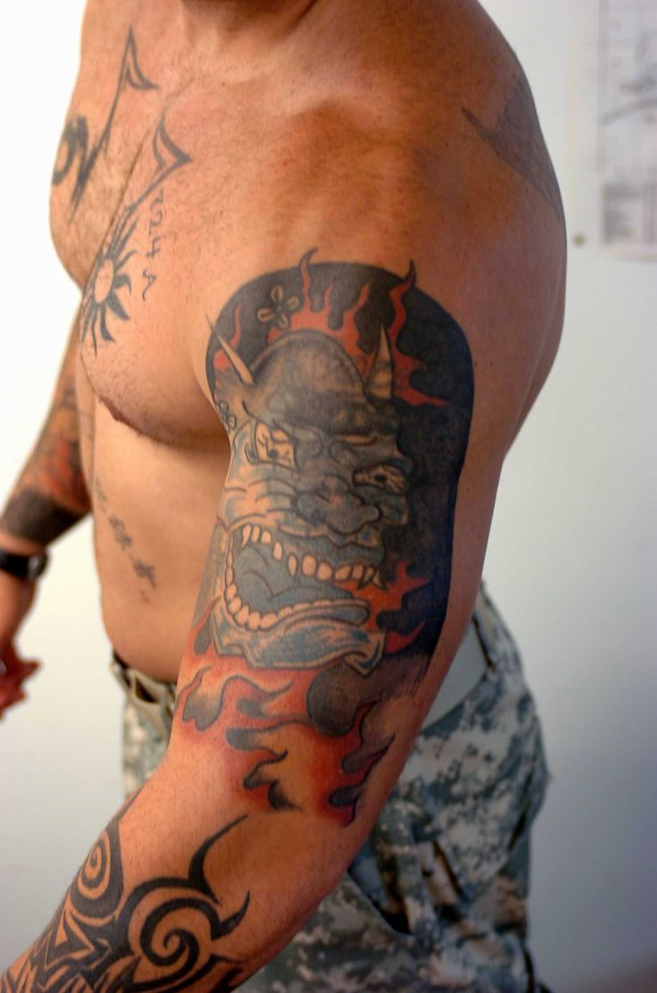 tattoo according to this policy visible army tattoos or bands on neck ...