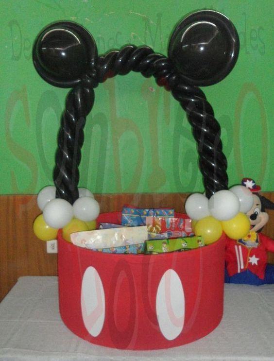 cajas de regalo de mickey mouse bebe - Buscar con Google