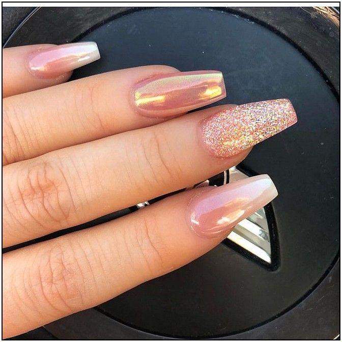 155+ the most wonderful and convenient coffin nail designs 2019 page 41