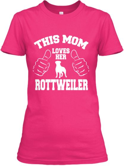Limited Edition Rottweiler Love Tee | Teespring