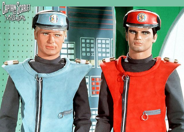 """1967 ... Captain Scarlet and the Mysterons lol used to scare the crap outta me when that deep voice announced """"This is the voice of the mysterons!"""" lol"""