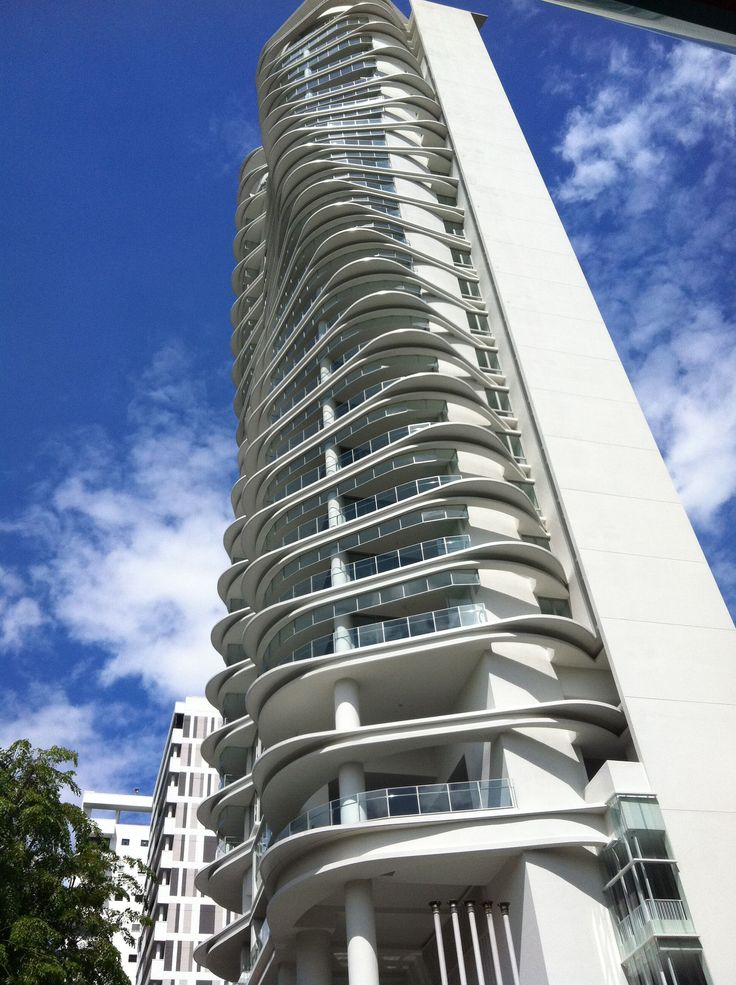 Ferrel residences singapore high rises pinterest for Modern condo building design