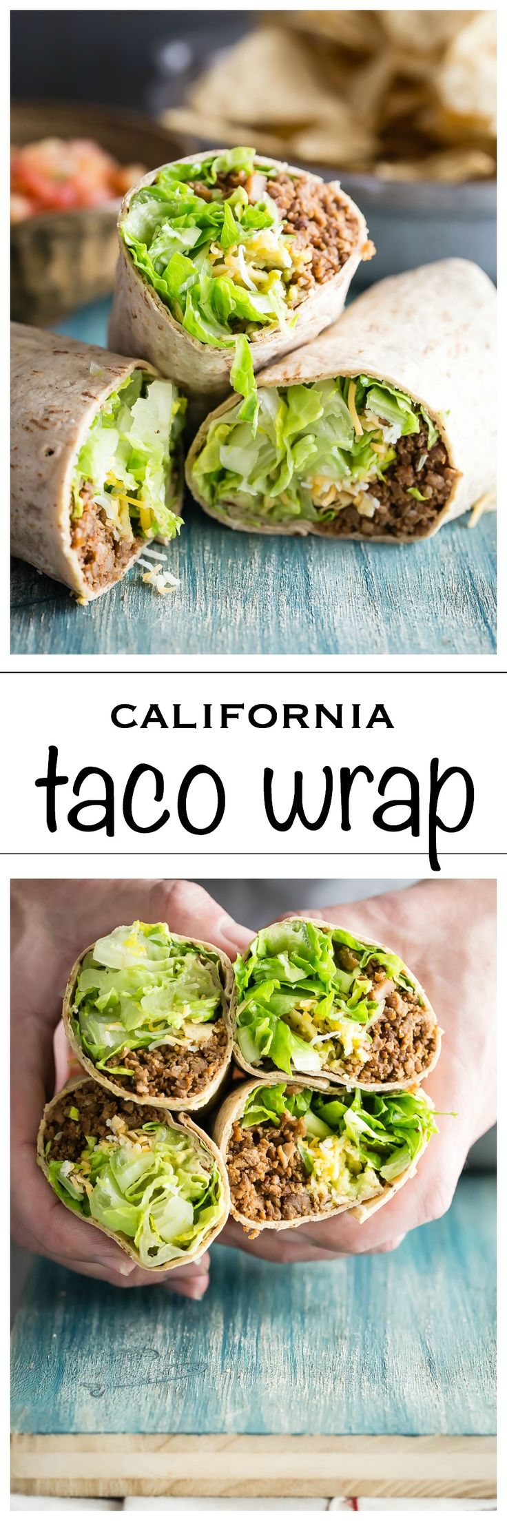 A great new way to eat your homemade tacos, in a Flatout Wrap! Packed with ground beef, cheese and all your favorite taco fixings.
