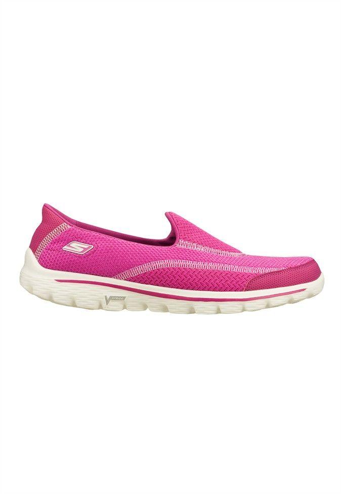 skechers gowalk 2 slip on athletic shoes image