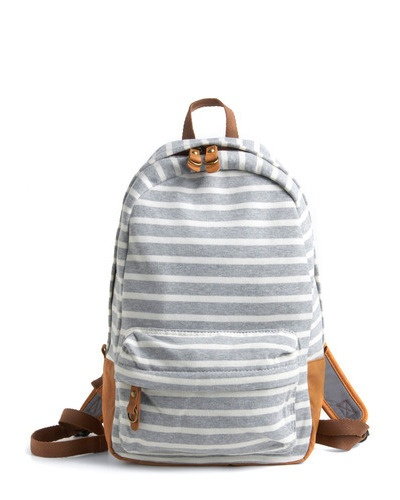 striped backpack | so adorable