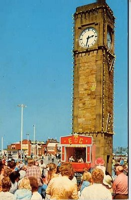 Town Clock, Rhyl, North Wales