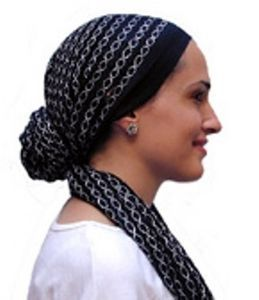 how to tie a headscarf - various ways