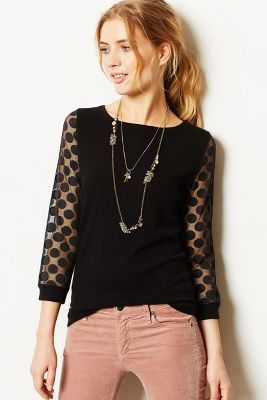 Sparrow Dotlace Pullover