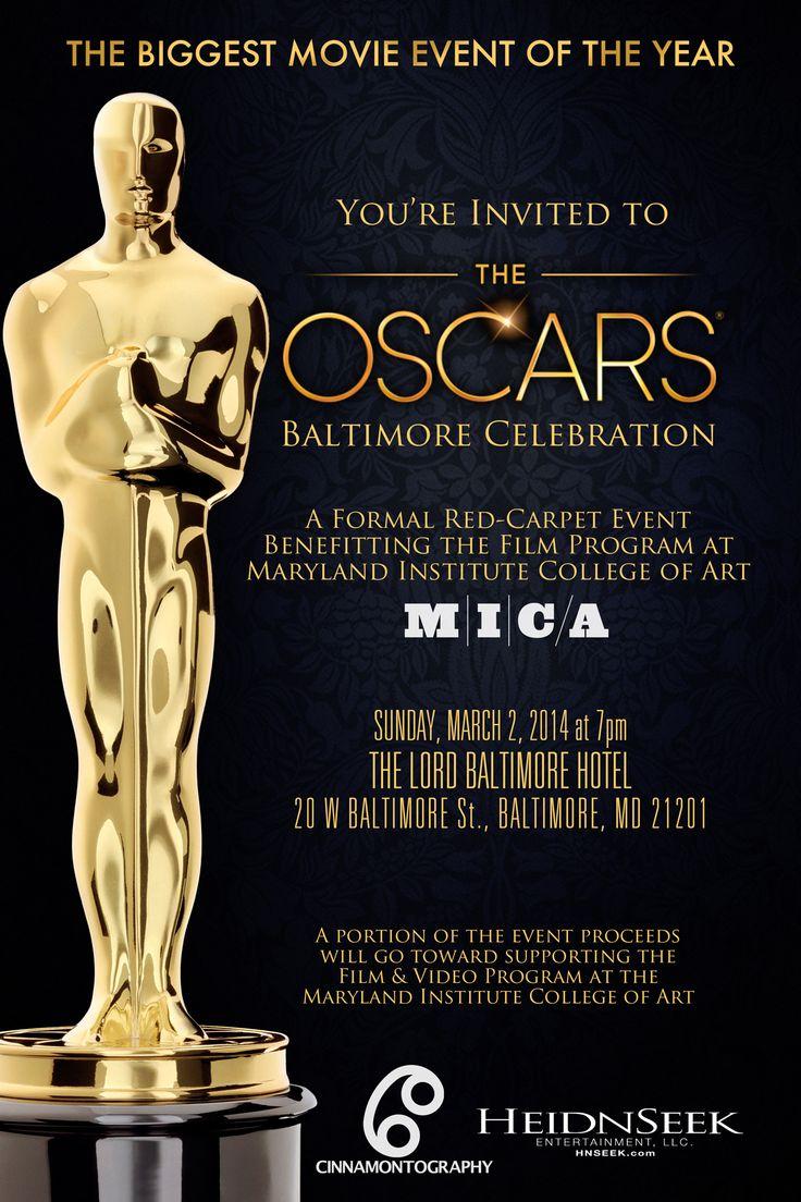 Oscar Invitation Invitations Galabal 2017 Pinterest