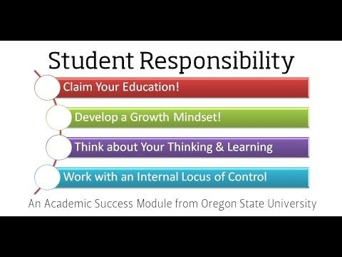 Personal Success | Academic Success Center | Oregon State University