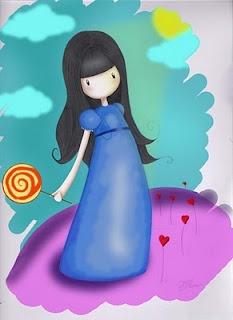 Mini princesa chicle