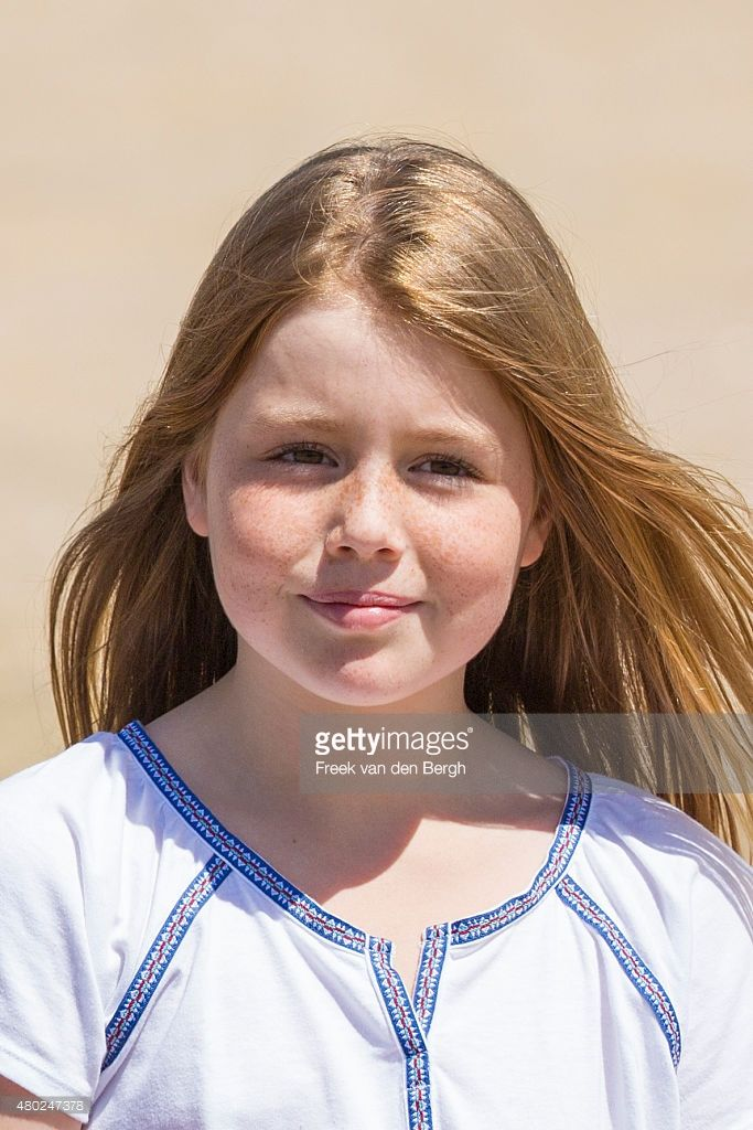 Princess Alexia poses for pictures on July 10, 2015 in Wassenaar, Netherlands. (Photo by Freekvan den Bergh/Getty Images)