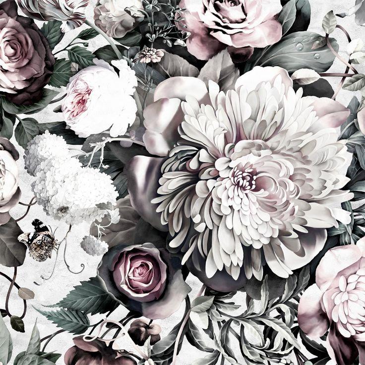The Peak of Tres Chic Ellie Cashman's Dark Floral II