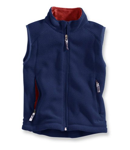 Kids' Trail Model Fleece Vest: Vests | Free Shipping at L.L.Bean