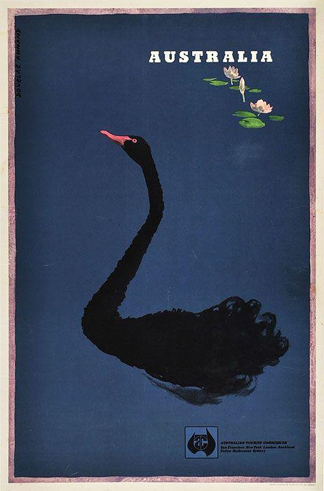 Douglas Annand: Black Swan, ca. 1950's