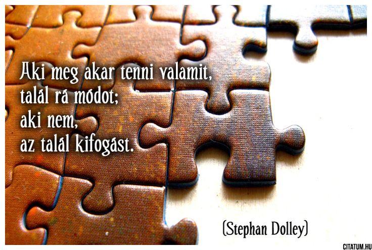 Stephen Dolley gondolata a kifogásokról.