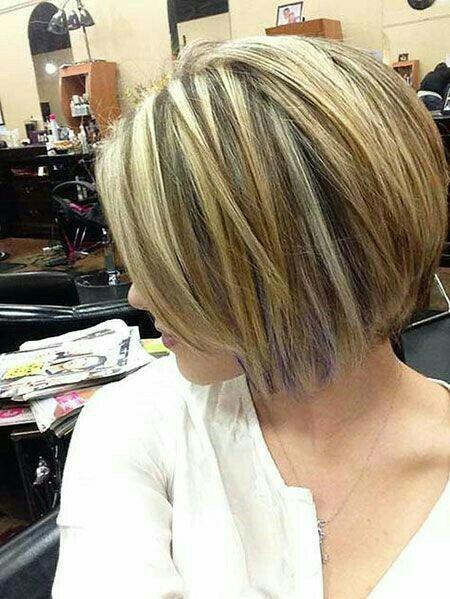 Highlights Lowlights Short Medium Length Hairstyles Pinterest